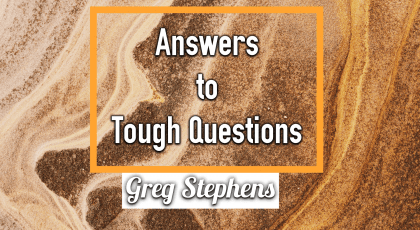 Tough Questions – Greg Stephens