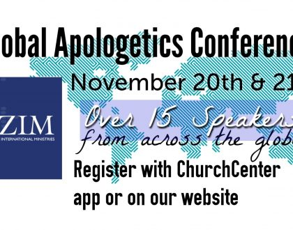 RZIM Global Apologetics Conference