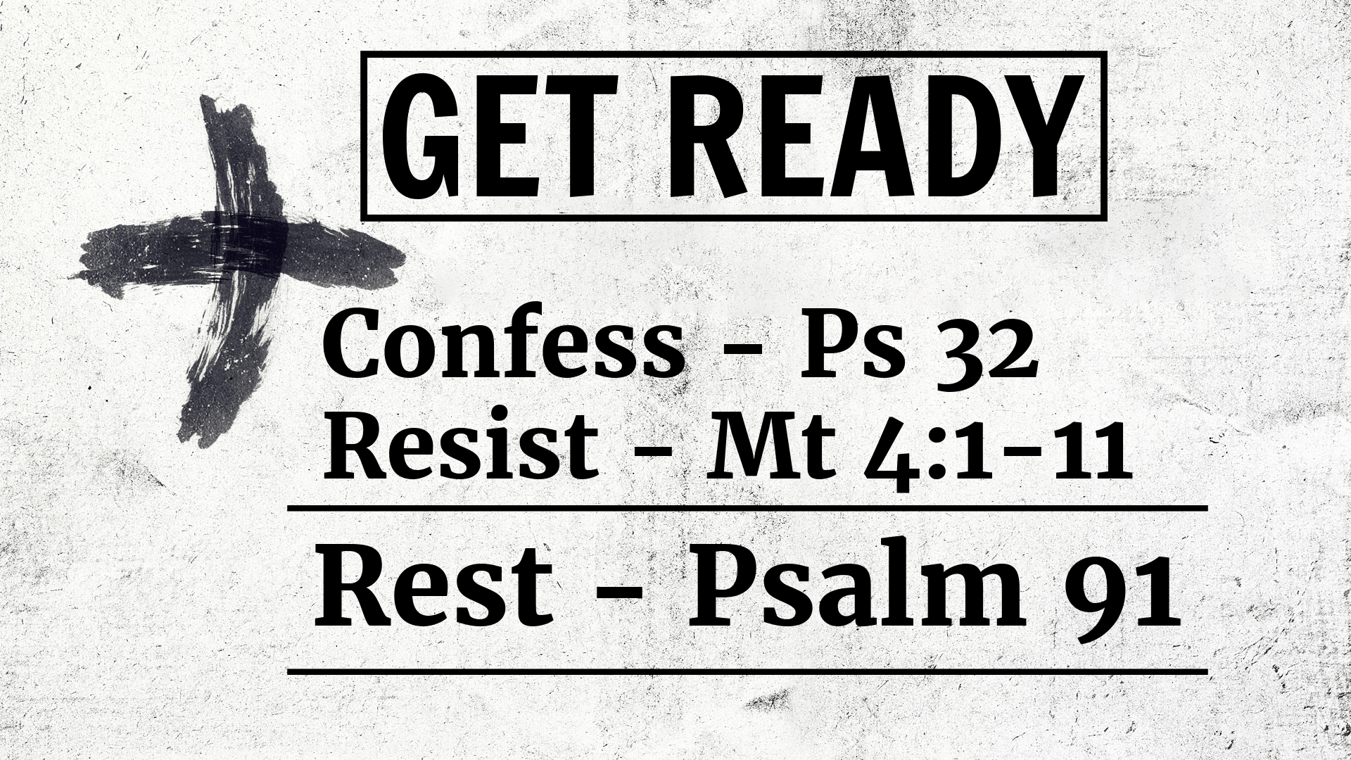 Get Ready - Rest