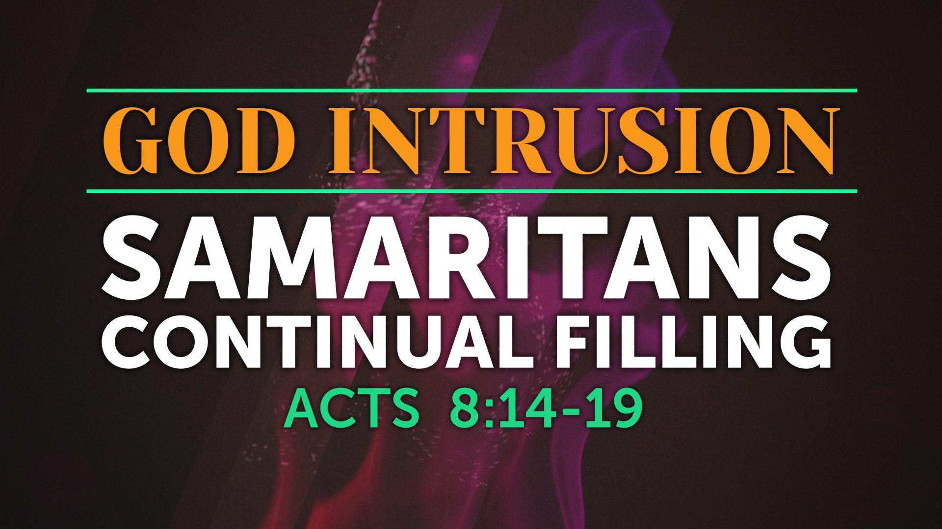 God Intrusion - Continual Filling