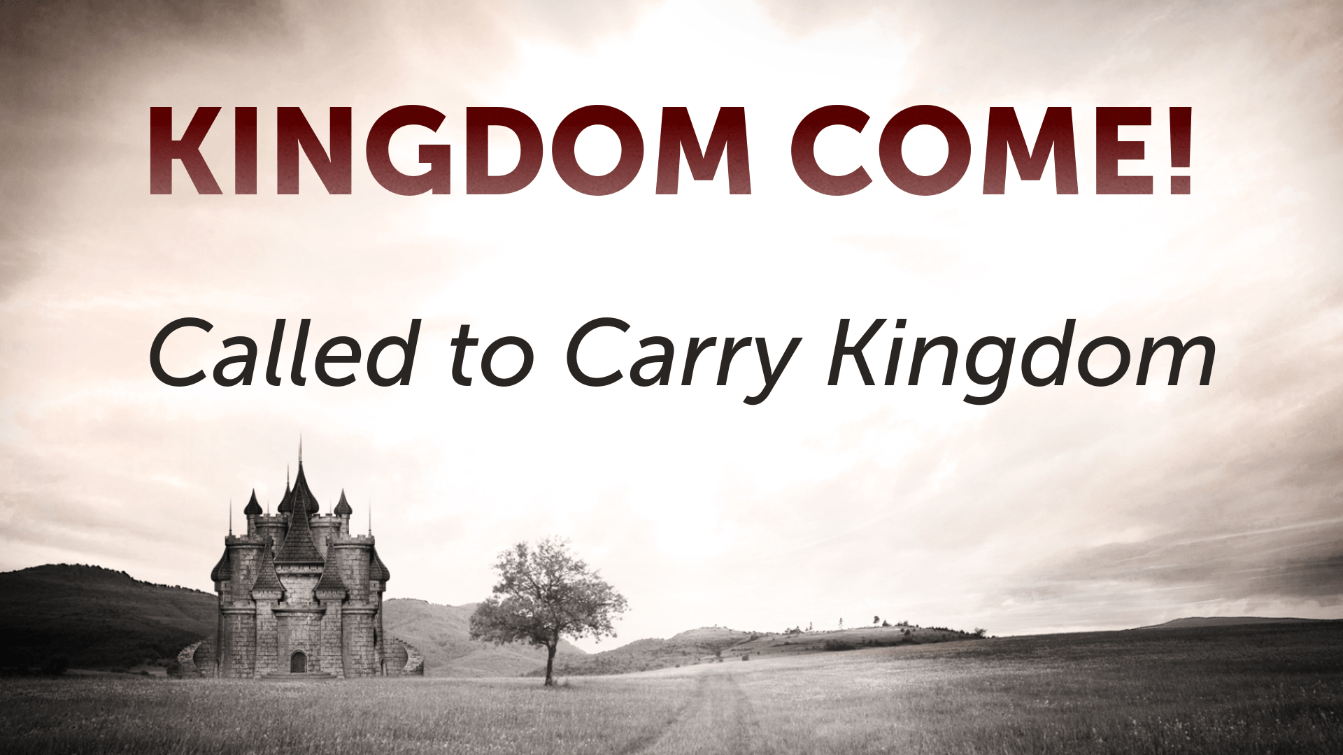 Called To Carry Kingdom