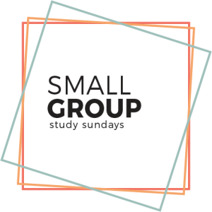 Small group study sunday