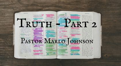 Truth – Part 2